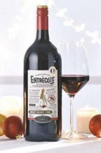 Entrecote Merlot Cabernet Sauvignon IGP Pays d'Oc