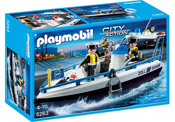Playmobil Zollboot 5263