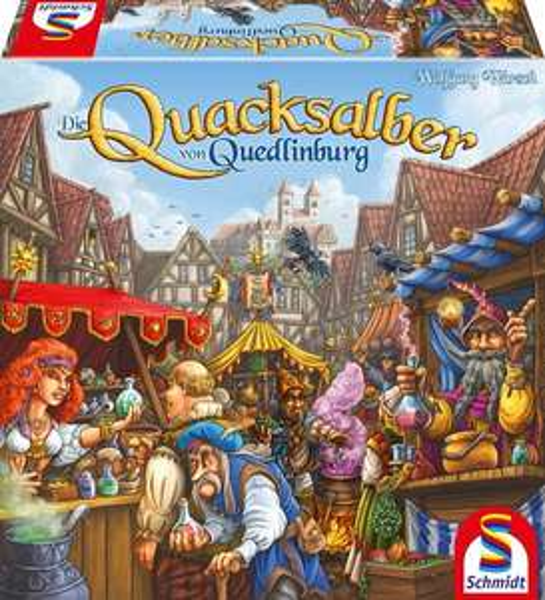 Die Quacksalber von Quedlinburg - Kennerspiel des Jahres 2018