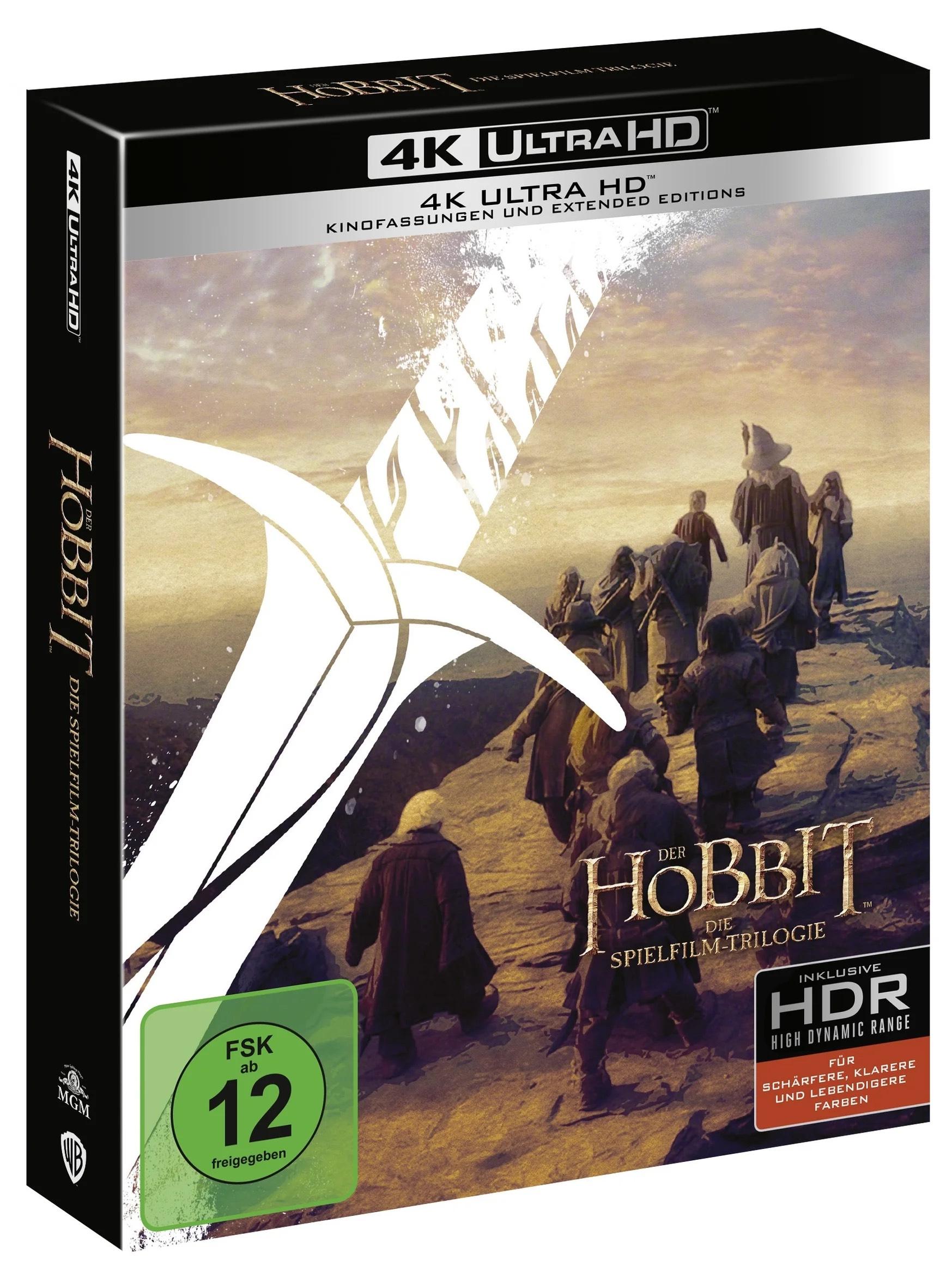 Der Hobbit - 4K UHD BOX