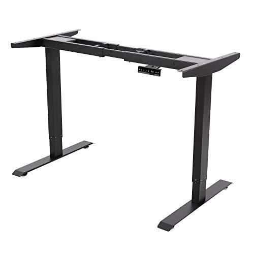 ALLDREI höhenverstellbarer Schreibtisch elektrisch stufenlos verstellbar für 239,00€