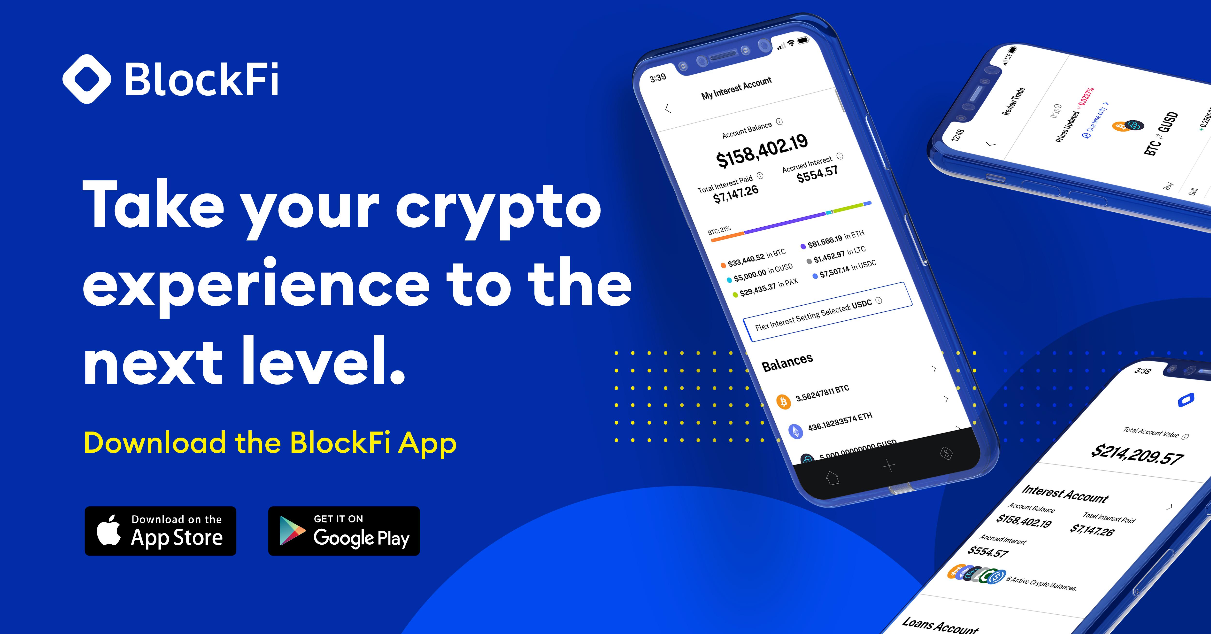 (KwK Crypto) BlockFi 10$ Geworbener / 10$ Werber / Mindesteinzahlung 100$