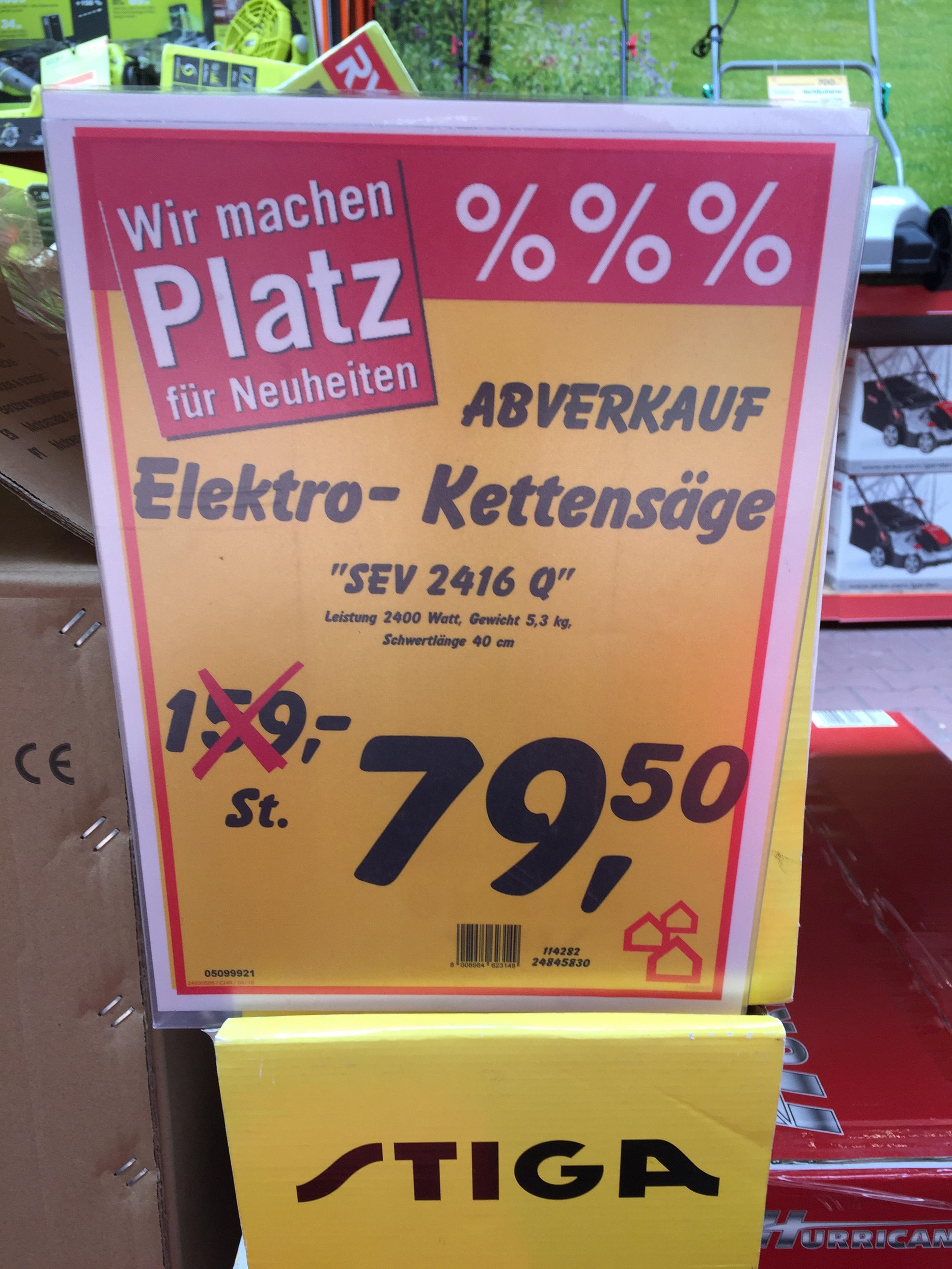 Elektrokettensäge Stiga SEV 2416 Q 2400W