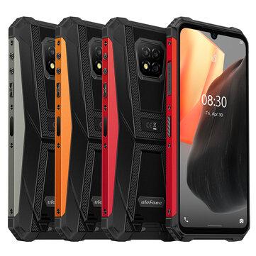 Ulefone Armor 8 pro 6/128GB Outdoor Smartphone zum Einführungspreis, Wasser- Staubdicht IP68 IP69K; NFC; 5580mAh; Helio P60 Octa Core