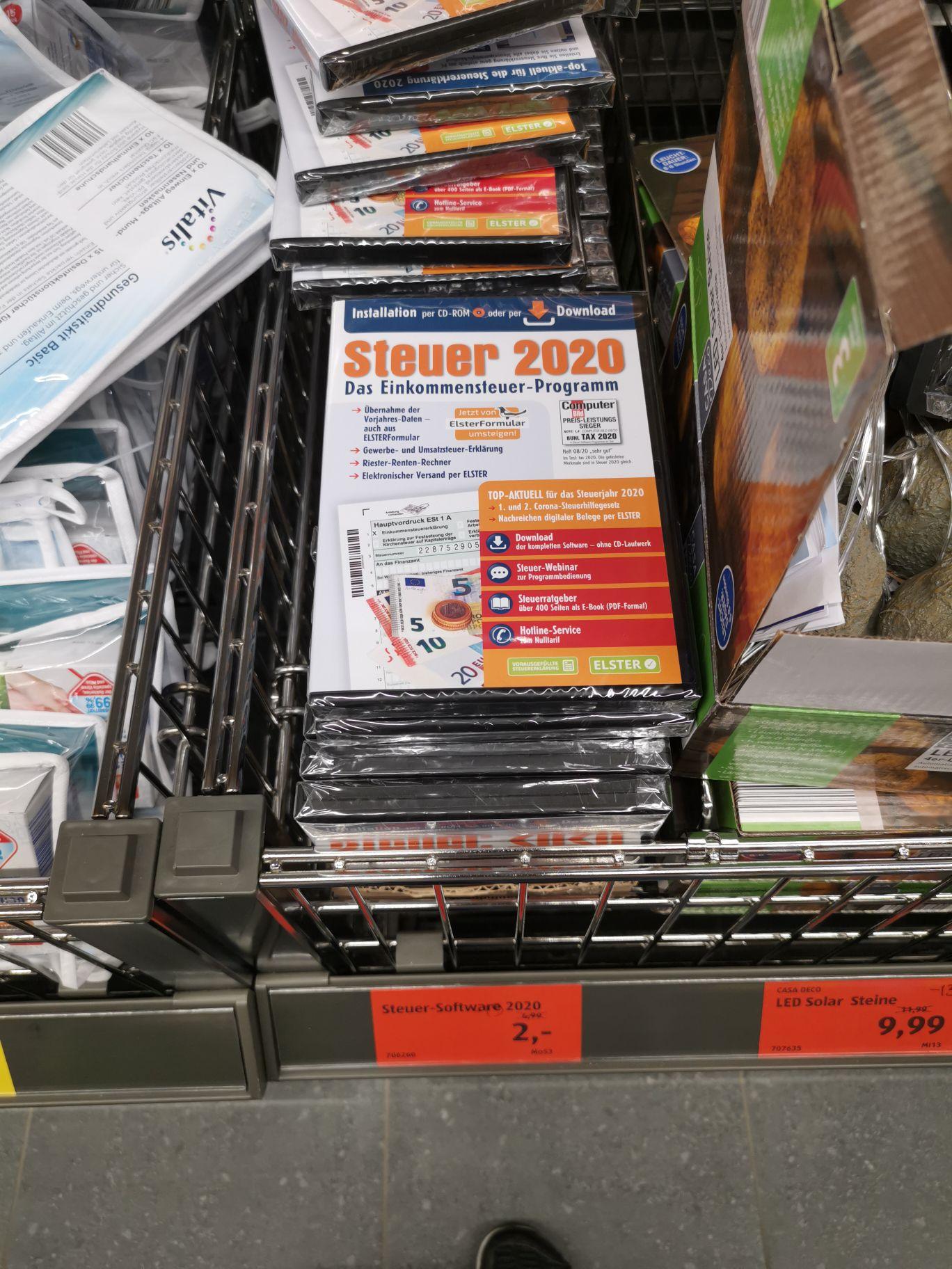 Steuer 2020 (Buhl tax 2021) [Lokal Aldi Schwäbisch Gmünd]