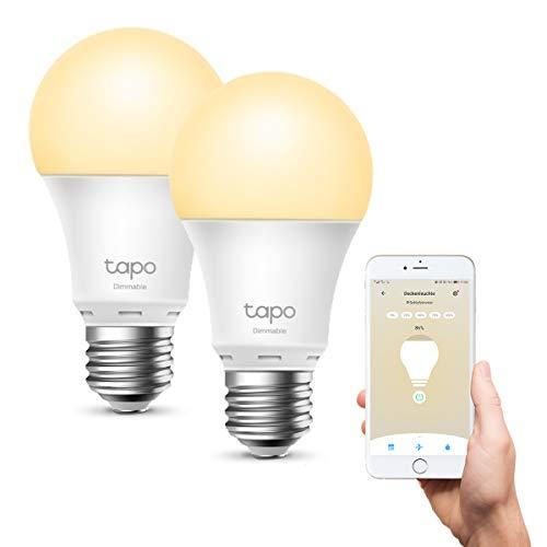 [Amazon] TP-Link Tapo L510E smarte WLAN Glühbirne E27, dimmbar 8.7 W, kein Hub notwendig, kompatibel mit Alexa, Google Assistant