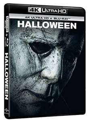 Halloween (2018) 4K UHD Blu-ray (inkl. deutscher Tonspur) + Blu-ray (ohne deutsche Tonspur)