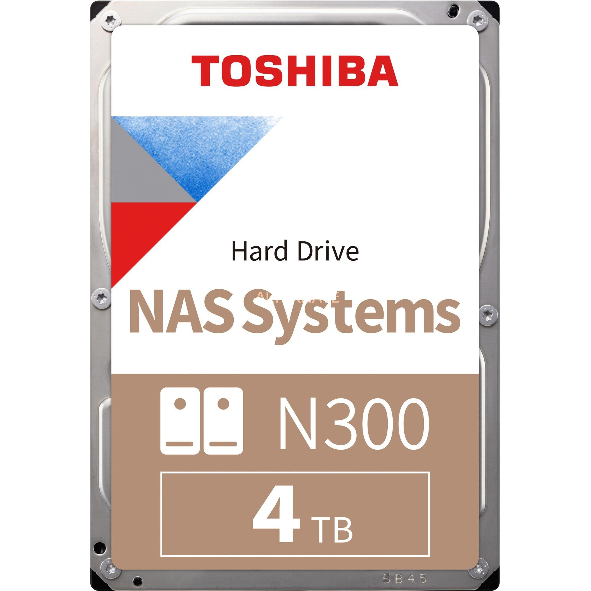 "Toshiba N300 4 TB, Festplatte (SATA 6 Gb/s, 3,5"", Bulk)"