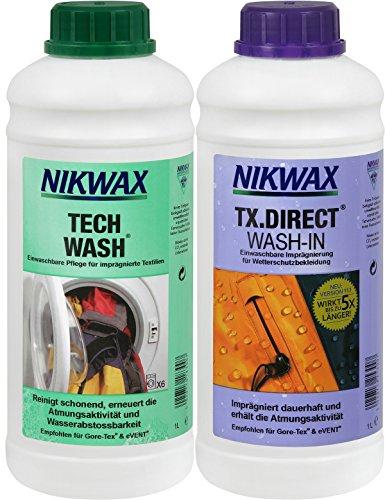 Nikwax Tech Wash +TX Direct 2 x 1 l