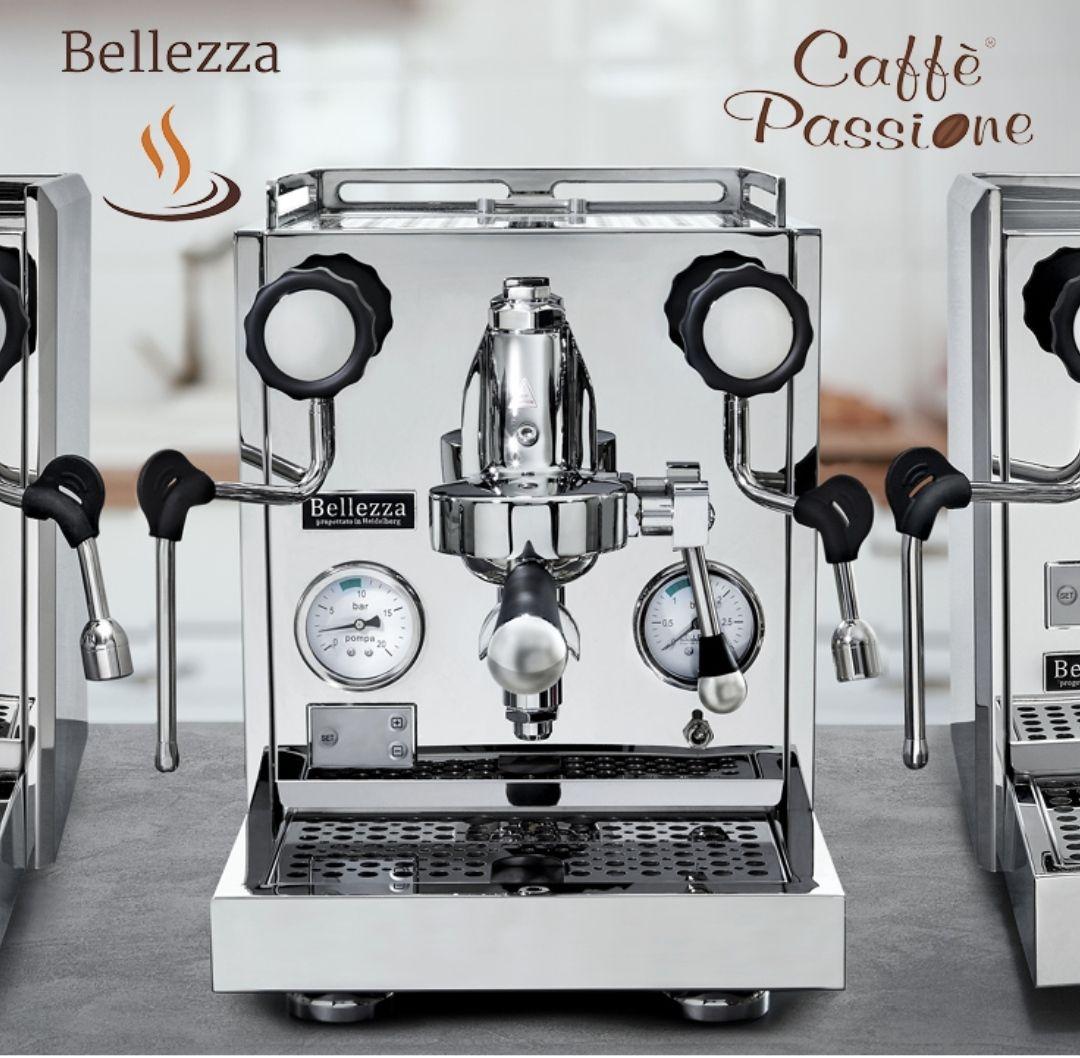 Bellezza Siebträger und Zubehör bei Caffe Passione