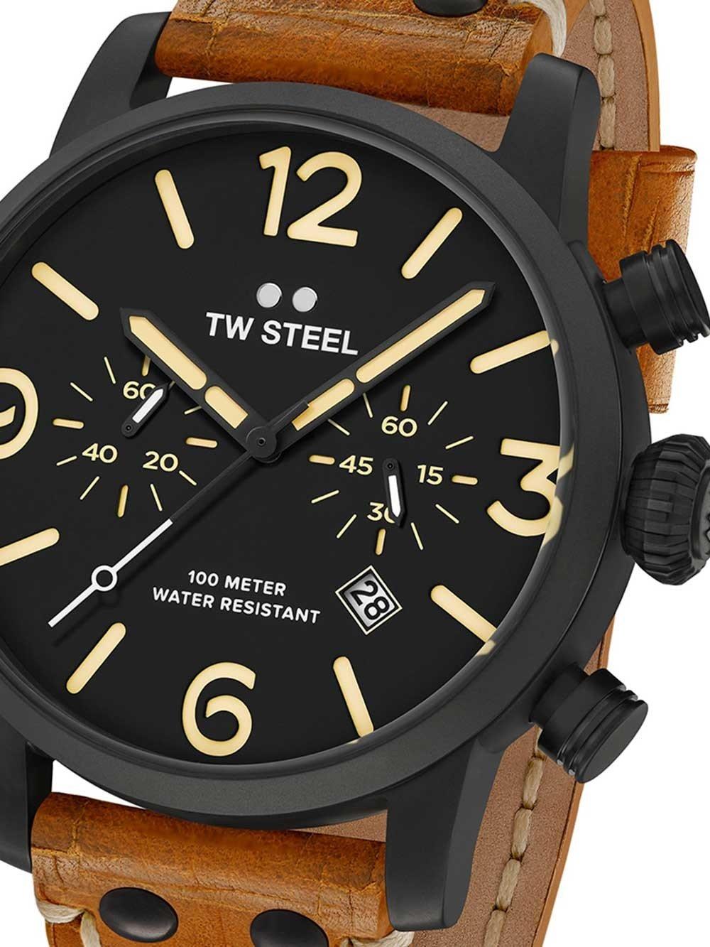 TW-Steel MS34 Maverick Chronograph 48mm 10ATM