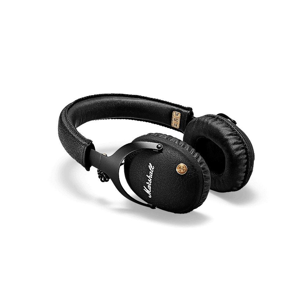 Marshall Monitor BT - Marshall Monitor Bluetooth schwarz Over-Ear-Kopfhörer
