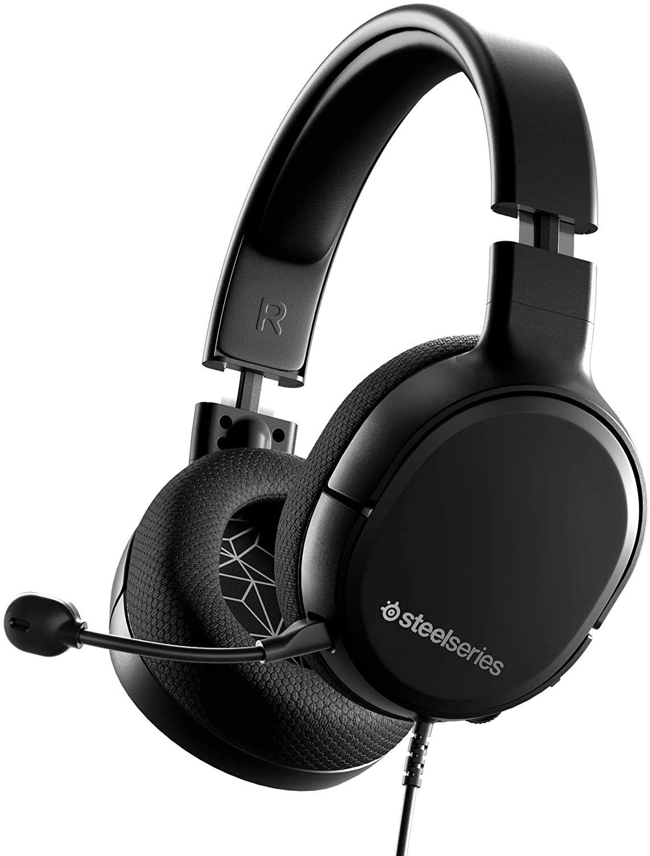 SteelSeries Arctis 1 kabelgebundenes Gaming-Headset (Klinke, abnehmbares ClearCast Mikrofon, für Playstation, Xbox, PC, Nintendo Switch)
