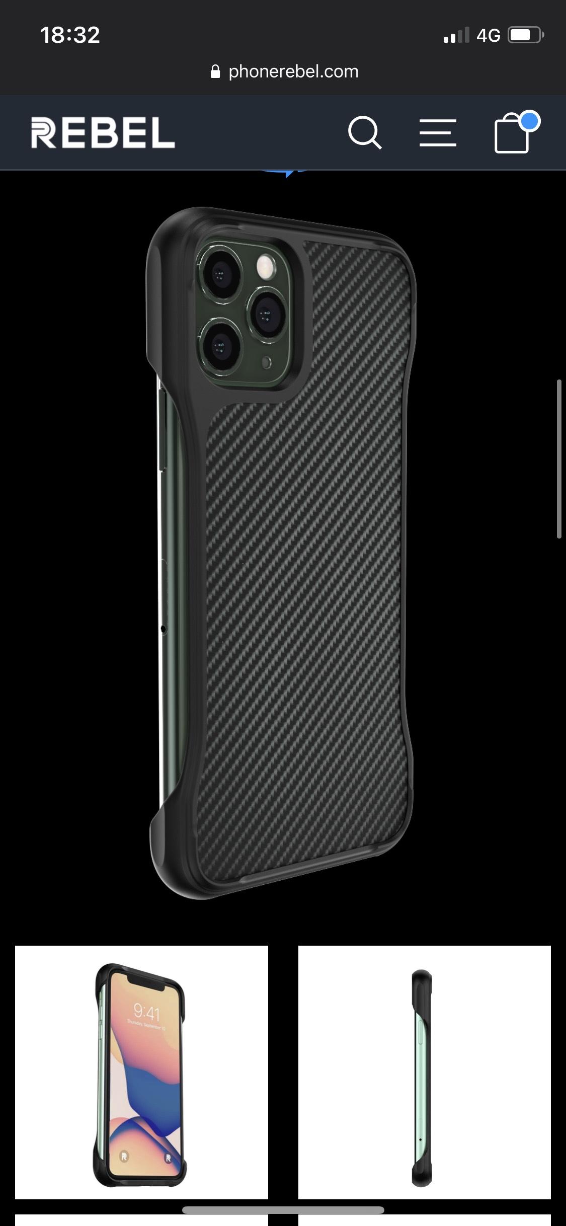 PhoneRebel iPhone 7 bis iPhone 11 Hüllen