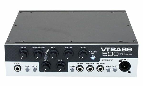 Tech 21 Bass VT 500 Amp, 500 Watt Bassverstärker mit analogem SansAmp Preamp [Thomann]