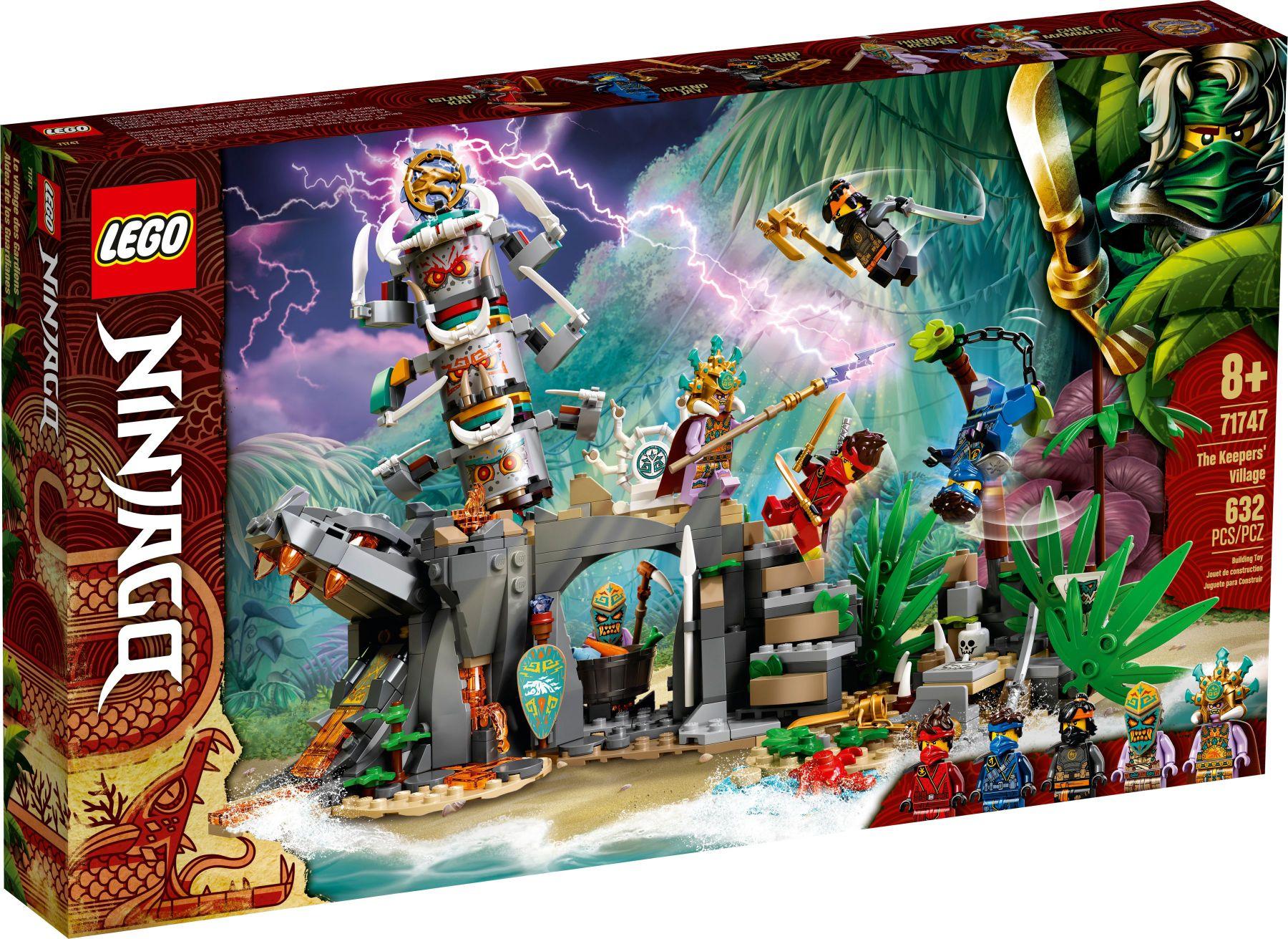 Alternate - Lego Ninjago 71747 Das Dorf der Wächter
