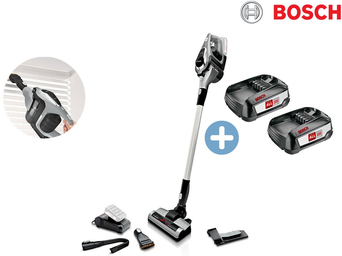 Bosch Unlimited Akkustaubsauger inklusive 2 Akkus