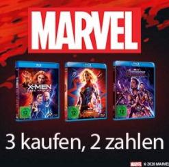 Marvel Filme 3 für 2 Angebot bei Amazon [10. Mai - 16. Mai 2021]