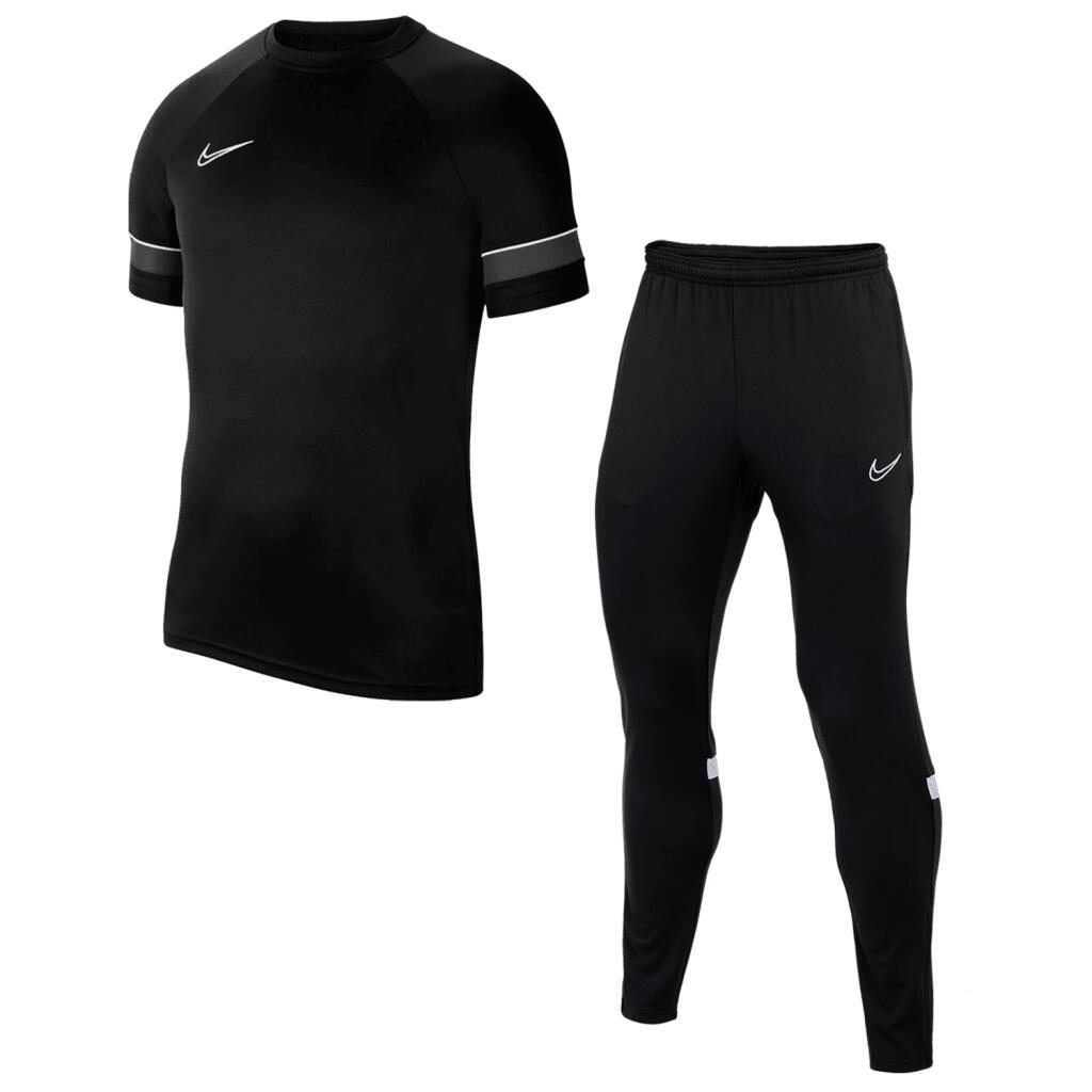 Nike Trainingsoutfit Academy 21 (Shirt & Trainingshose, Gr. S - XXL, 9 verschiedene Farben)