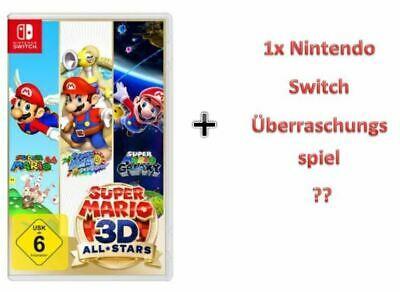 SUPER MARIO 3D ALL-STARS + ein Nintendo Switch Spiel als Überraschung