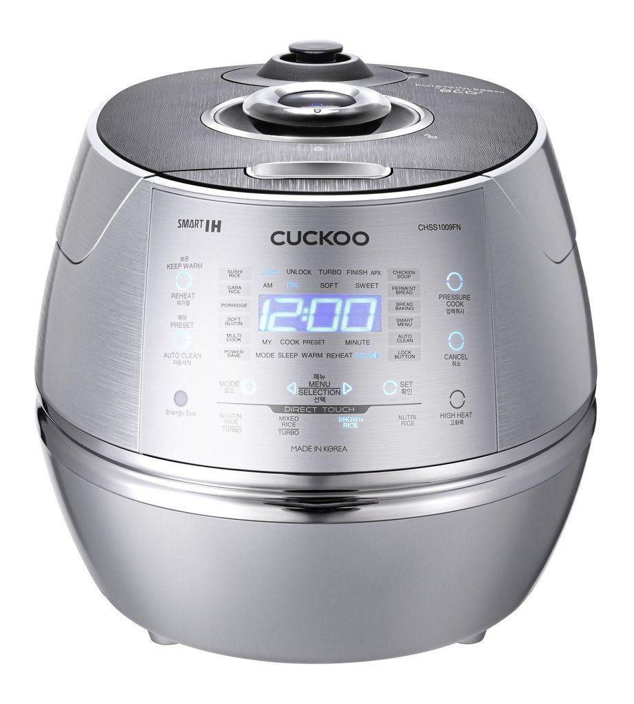 CUCKOO CRP-CHSS10009FN / IN (Induktion Dampfdruck) Reiskocher