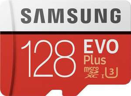 [otto up] Samsung EVO Plus 2020 R100/W60 microSDXC 128GB Kit, UHS-I U3, Class 10 (MB-MC128HA/EU)