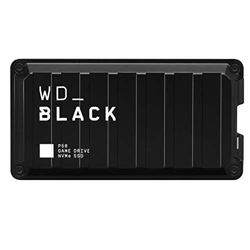 WD_BLACK P50 500GB SSD USB 3.2 Gen 2x2 2000MB/sec