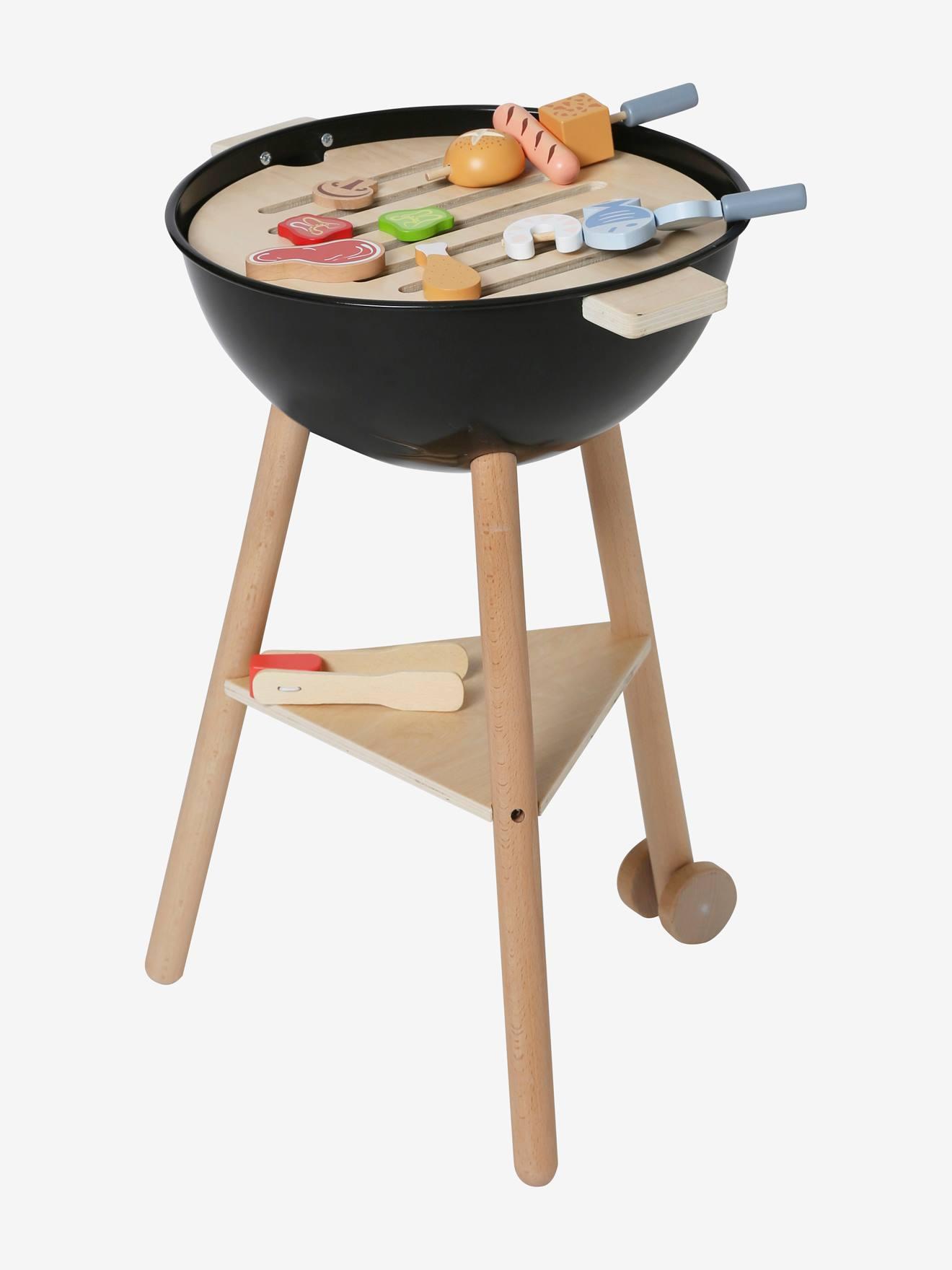 Zum Vatertag 50% Rabatt auf den Spielzeug-Grill aus Holz bei [vertbaudet]
