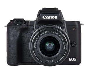 Canon EOS M50 + EF-M 15-45mm f/3.5-6.3 IS STM + EF-M 22mm f/2 STM