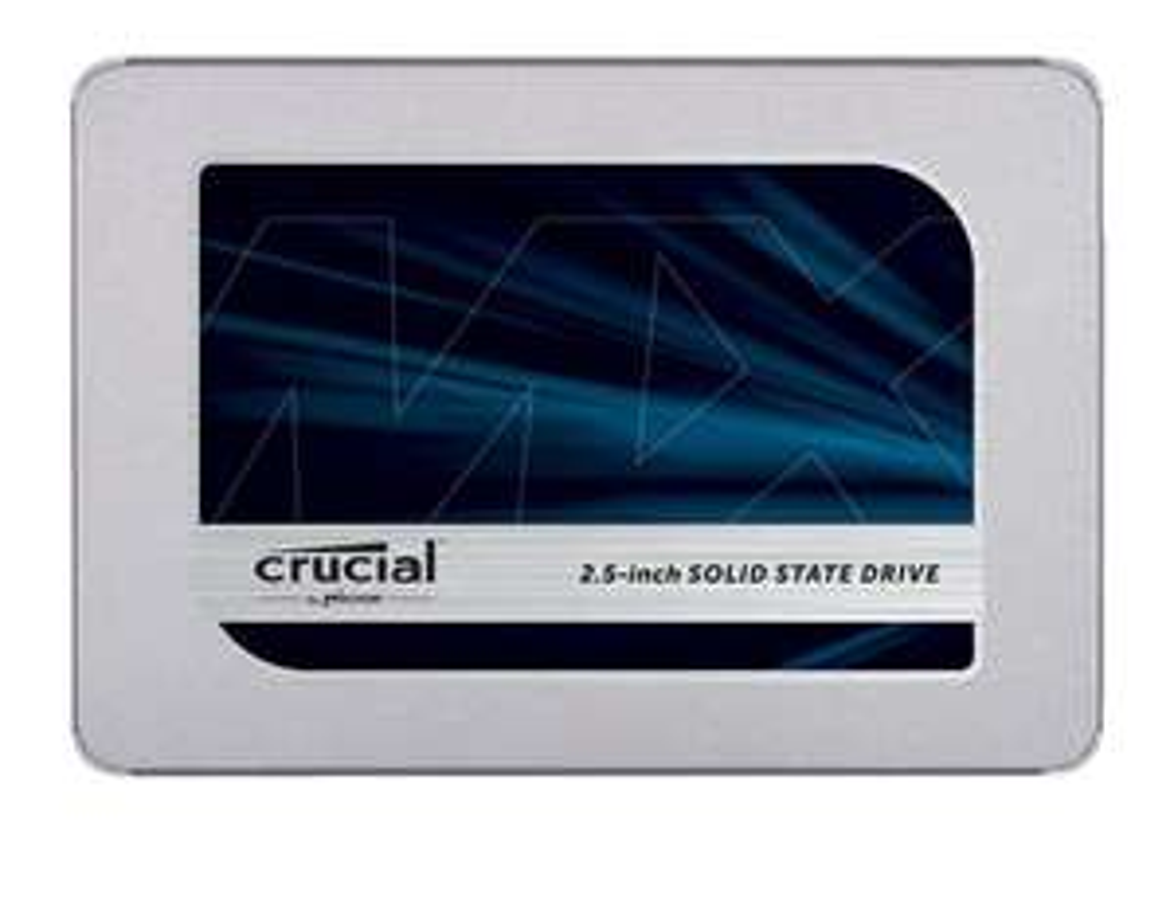 """Crucial MX500 1TB SSD (2.5"""", SATA, 560/510 MB/s, TLC, 1GB DRAM-Cache, 360TB TBW, 5J Garantie)"""