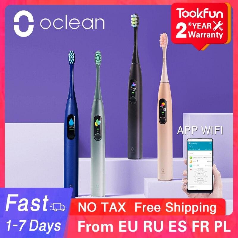 Oclean X Pro elektrische Schallzahnbürste mit Touchscreen für 38,52€ - EU Versand
