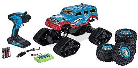Carson 1:10 Track Racer 2.4G 100% RTR, Ferngesteuertes Auto, RC Fahrzeug, inkl. Batterien und Fernsteuerung, Fahrzeit 25 min, 500404155