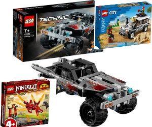 Verschiedene Legosets, 60267 Safari-Geländewagen ,71701 Kais Feuerdrache, Fluchtfahrzeug 42090 durch 10% Coupon 14,39€, Rossmann