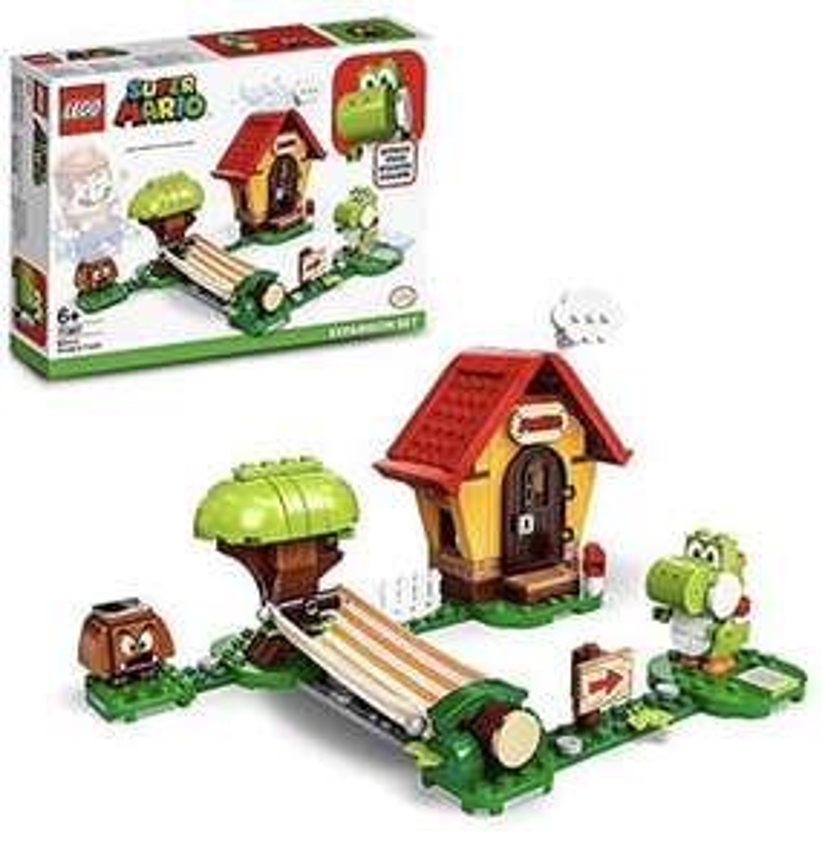 Amazon UK Import LEGO® Super Mario 71367 Marios Haus und Yoshi – Erweiterungsset