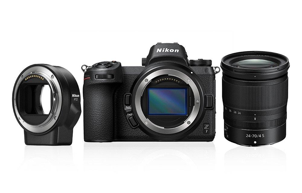 Nikon Z7 Gehäuse + 24-70mm 4.0 S + FTZ Adapter Kit