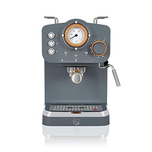 Swan Espressomaschine, 15 bar Druck, Milchaufschäumer, 1,2 l Tank [Vorbestellbar]