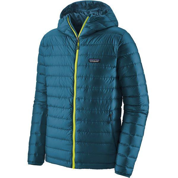 Patagonia Down Sweater Hoody Herren in der Farbe creater blue (Ekosport)