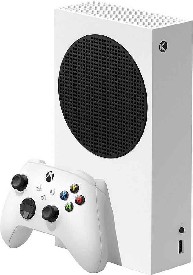 MICROSOFT Xbox Series S 512 GB Spielekonsole inkl. Controller weiß (Mediamarkt)
