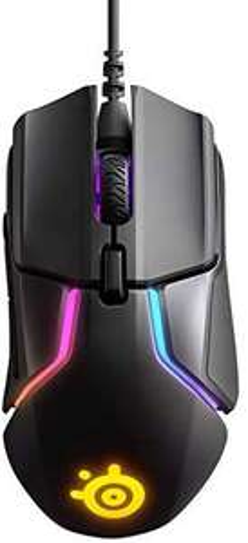 SteelSeries Rival 600 – Gaming-Maus – 12.000 CPI TrueMove3+ Dual Optical Sensor – 0,05 Lift-off-Distanz – Gewichtssystem – RGB-Beleuchtung