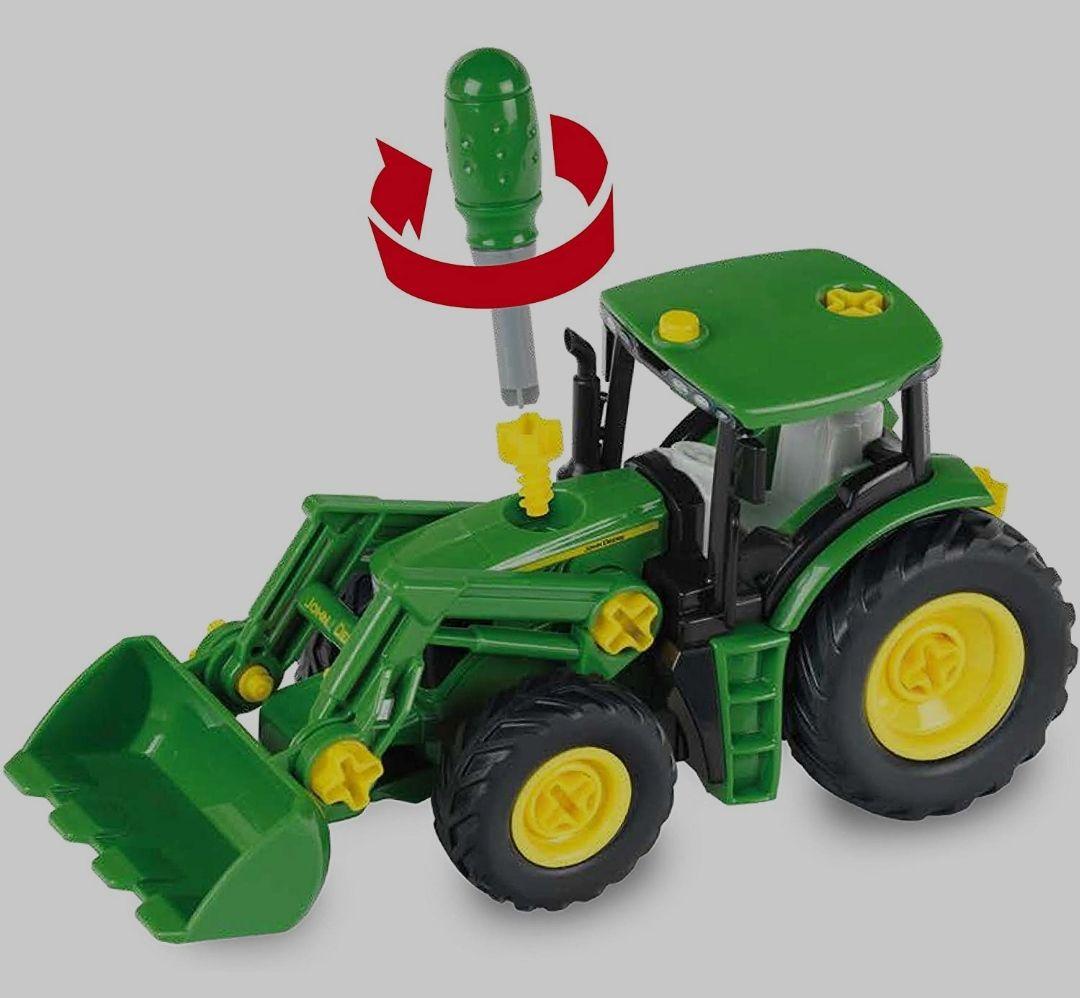 [Amazon Prime] John Deere Traktor mit Anhänger und Pflug Bestpreis