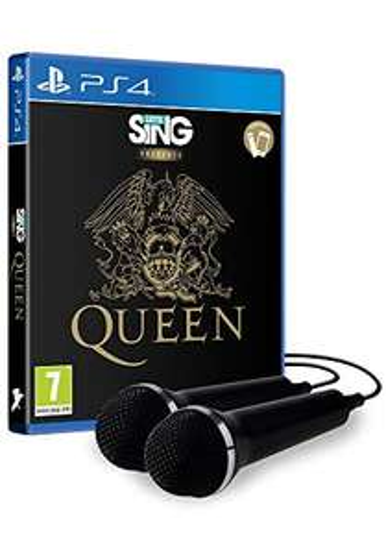Let's Sing Queen - 2 Mics (PS4) Playstation 4 für 29,99€ + Versand / Let's Sing Queen ohne Mic für 14,99€ + Versand