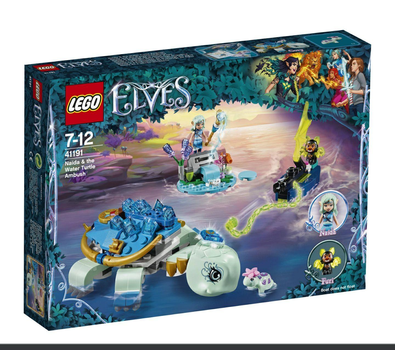 (lokal Blomberg) LEGO Elves - Naida und die Wasserschildkröte (41191)