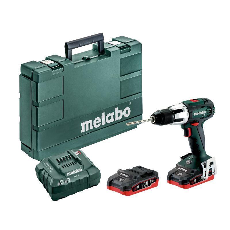 Metabo 18V Akku Schlagbohrmaschine SB 18 LT   2x Akku 3.5 Ah im Koffer