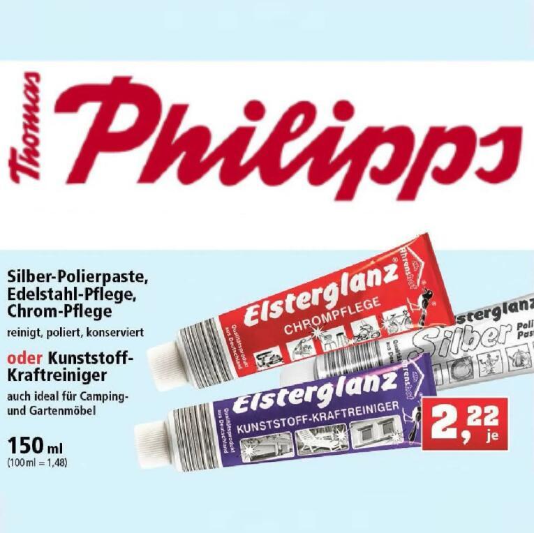 Elsterglanz Polierpaste 150ml Tube (1,48€/100ml) div. Sorten