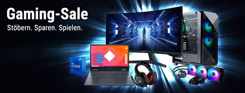 Cyberport Gaming Sale: Diverse Hardware wie z.B. SSD, AiO-Wasserkühlung, Monitor, Mainboard, Gehäuse & Laptop