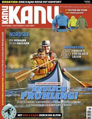 6 Monate Kanu Magazin für 21,90€ mit 20€ Bestchoice Universalgutschein als Prämie