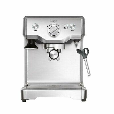 Sage The Duo Temp Pro Edelstahl Siebträger Espressomaschine Milchschaum