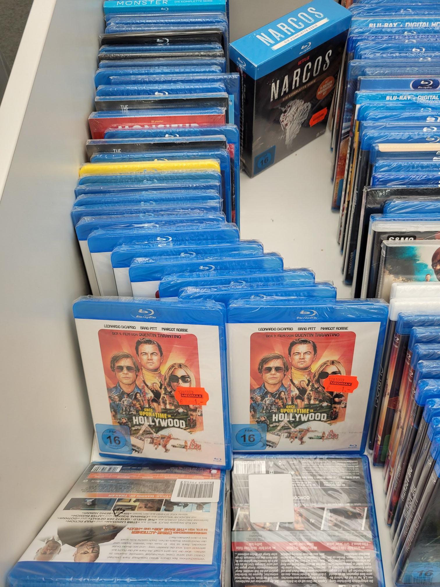 [Lokal MediMax Bernau bei Berlin] BluRay Once Upon A Time In Hollywood u. A.