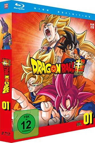 Dragonball Super - Blu-ray Box 1 (1. Arc: Kampf der Götter - Episoden 1-17, 2 Disks)