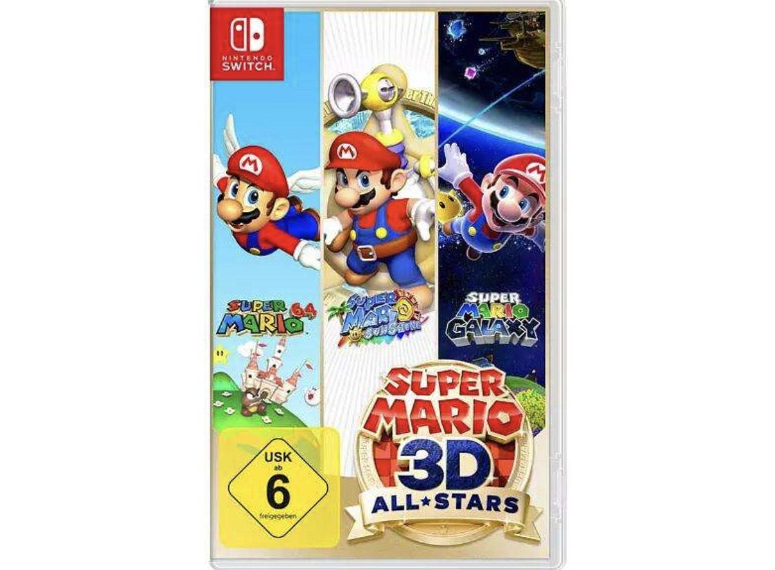 Switch Super Mario 3D Allstars bei Media Markt